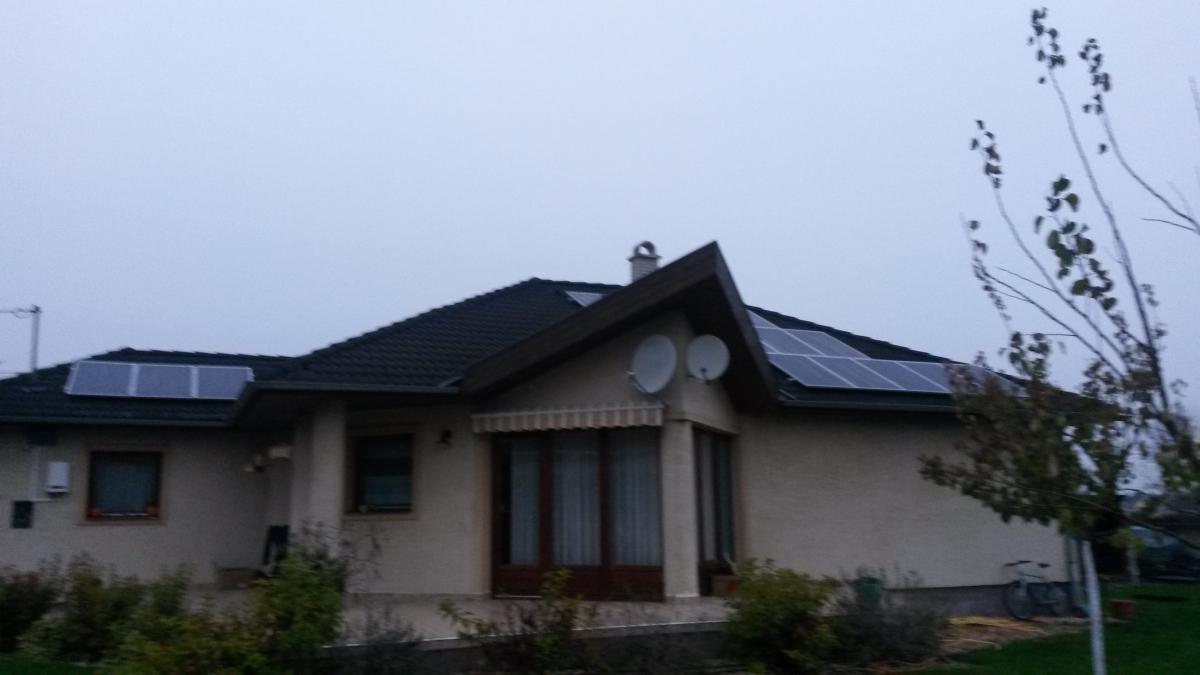 4,12 kW Bauer panelek, és Solaredge inverter