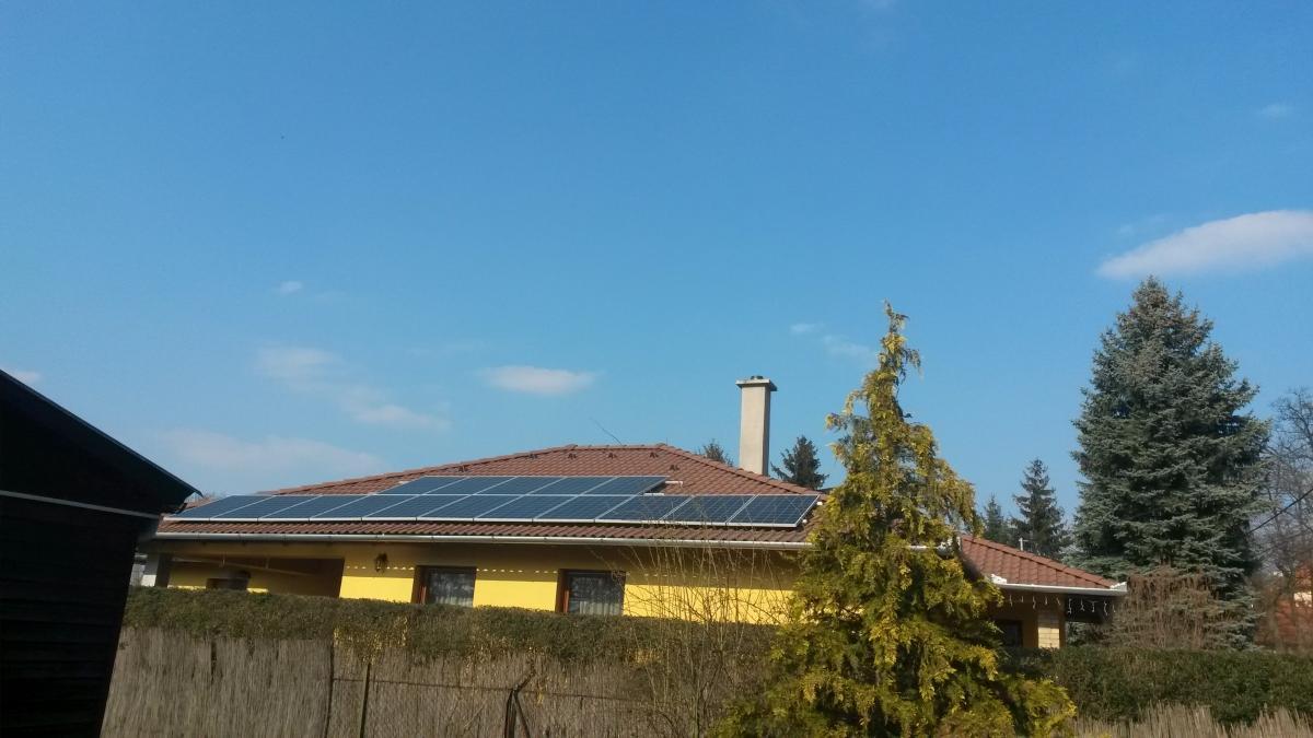 4,16 kW Bauer panelek, és Fronius inverter